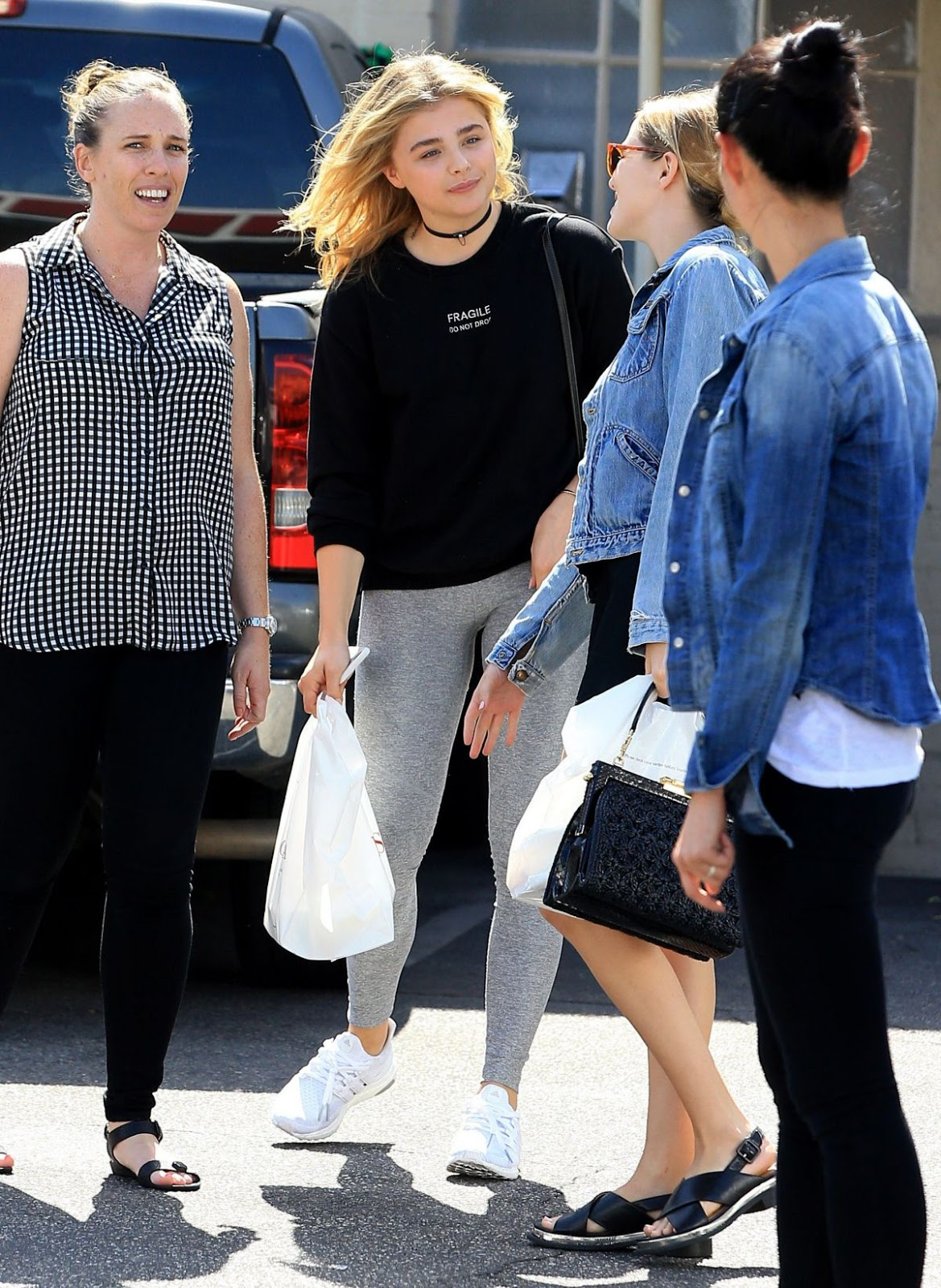 Chloe Moretz Out in Beverly Hills