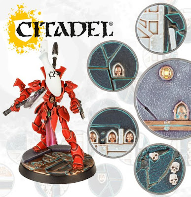Cheap Plastic Warhammer 40K Scenic Bases and Base Decoration Kits