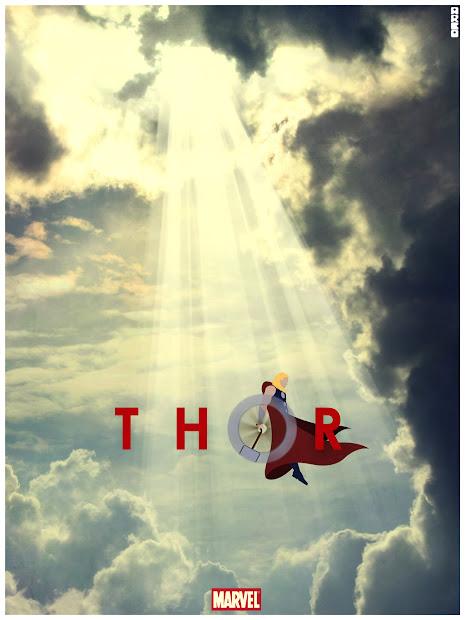 Thor Movie Poster Minimalist