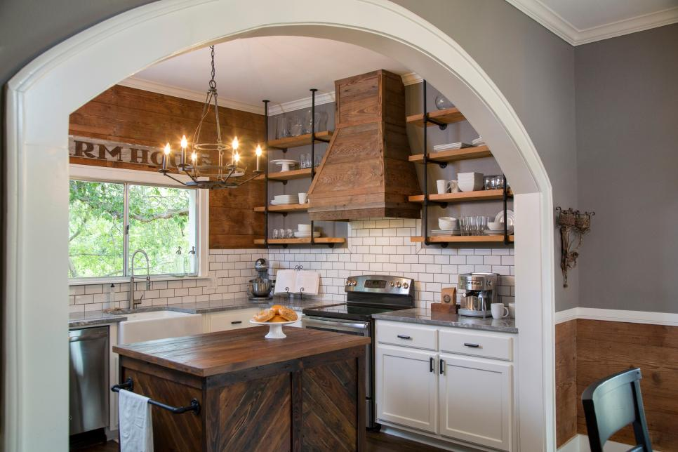 Colors Of Kitchen Cabinets In Fixer Upper Rustic Italian Home