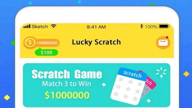Aplikasi Lucky Scratch
