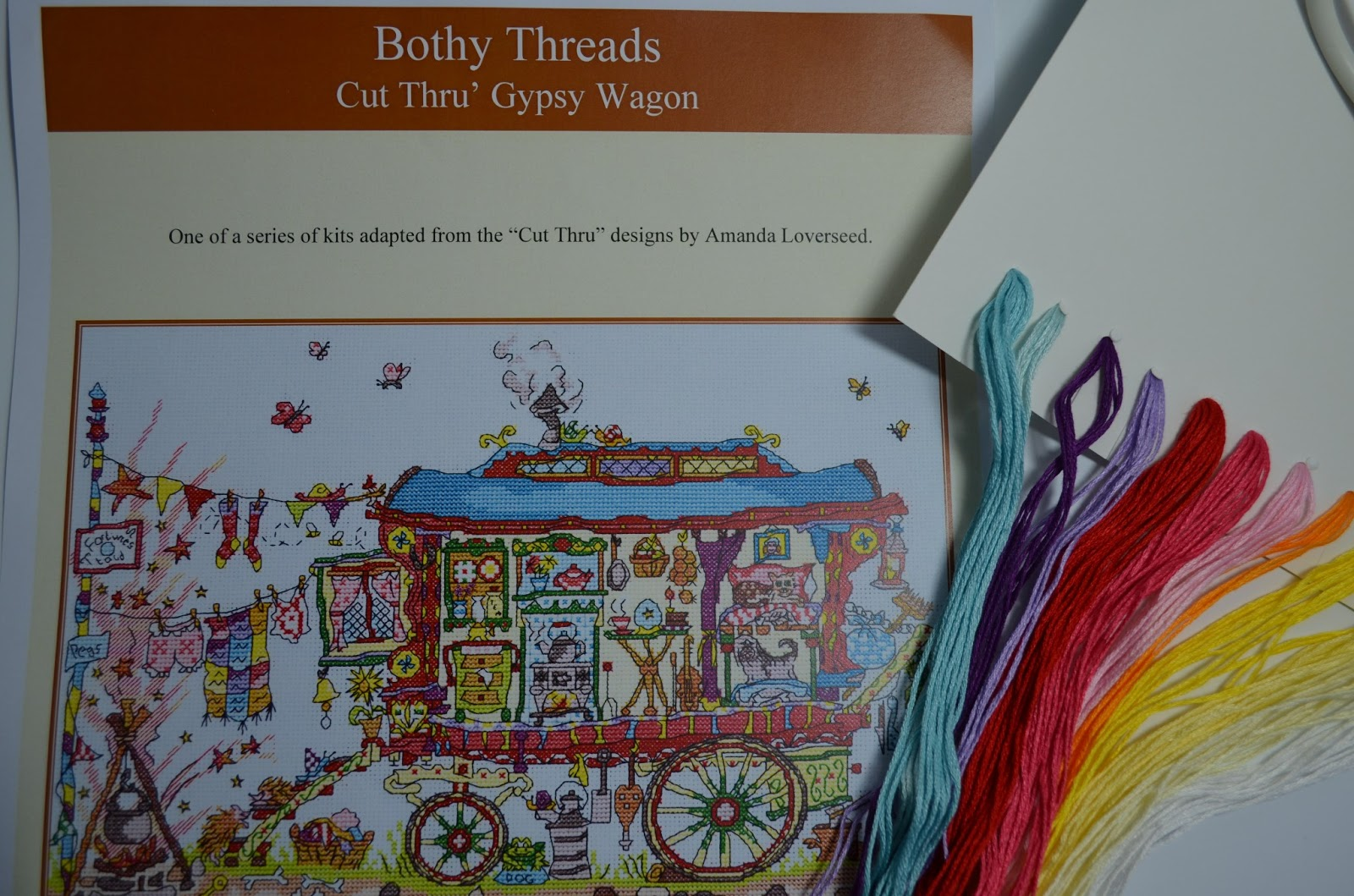 thread garden: Little House Needleworks Christmas cross stitch