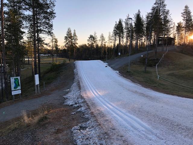 Talviloma Suomessa - Holiday Club Kuusamon Tropiikki hiihtolatu