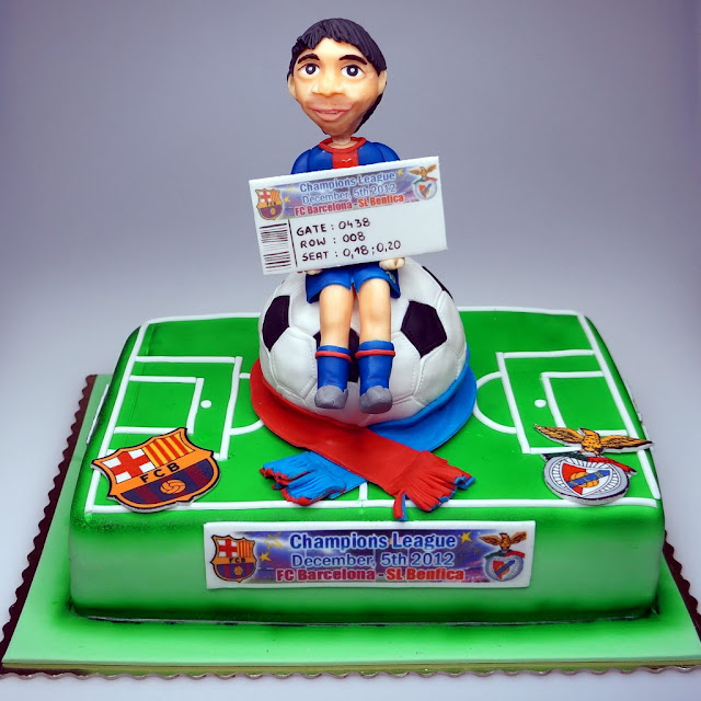 Birthday cake with Leo Messi - London Cakes