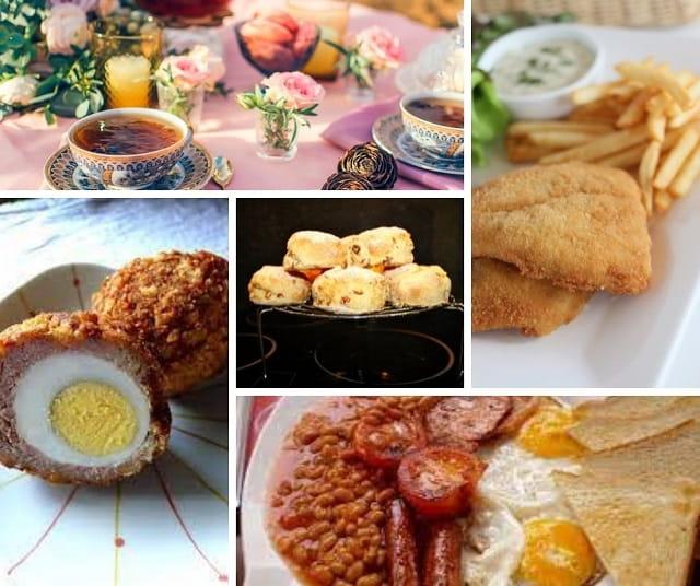 comida típica inglaterra