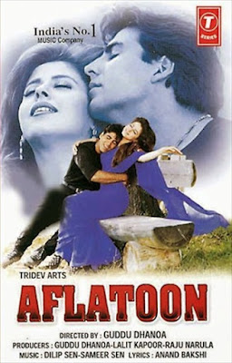 Watch Online Bollywood Movie Aflatoon 1997 300MB DVDRip 480P Full Hindi Film Free Download At WorldFree4u.Com