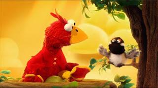 Elmo the Musical Bird the Musical, Elmo imagines he's a bird, Flying Song, Sitting on an Egg, I Feel Ducky, Sesame Street Episode 4401 Telly gets Jealous season 44