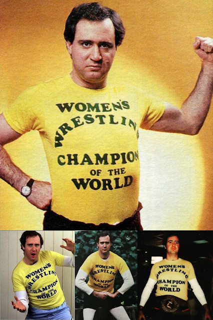 Andy Kaufman Wrestling Shirt.  StrengthFighter.com