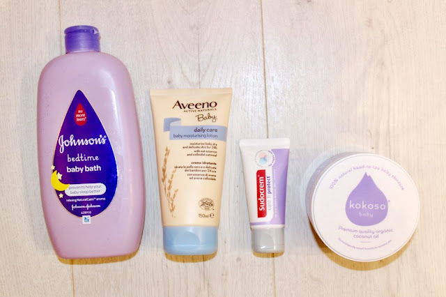 Baby Bath and Skin Care Products