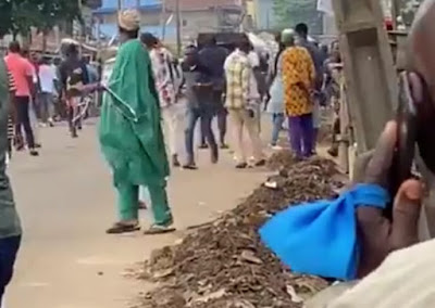 VIDEO: Gunshots Heard In Akure South Amidst Election #OndoDecides2020