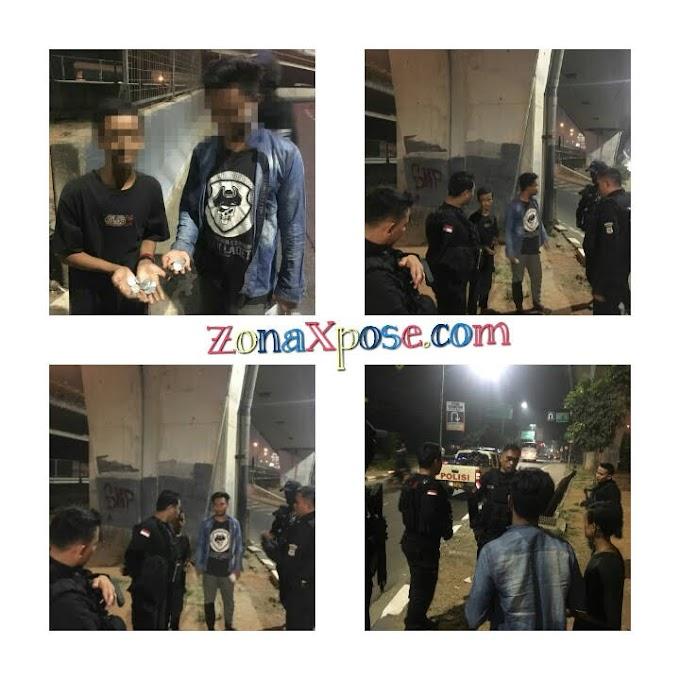 Tim Pemburu Preman (TPP)  Polres Metro Jakarta Barat Bubarkan Aksi Pungli 2 Remaja