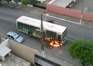 Rio Grande do Norte registra 34 ataques a ônibus em dez cidades