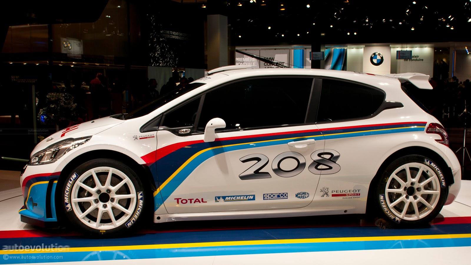Nancys Car Designs: 2013 Peugeot 208 R5 Rally Car
