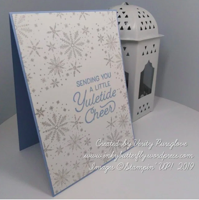 Nigezza Creates with Stampin' Up! and Inkybutterfly and Frosted Foliage