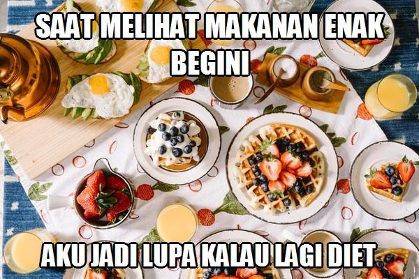 50 Meme Lucu Makanan