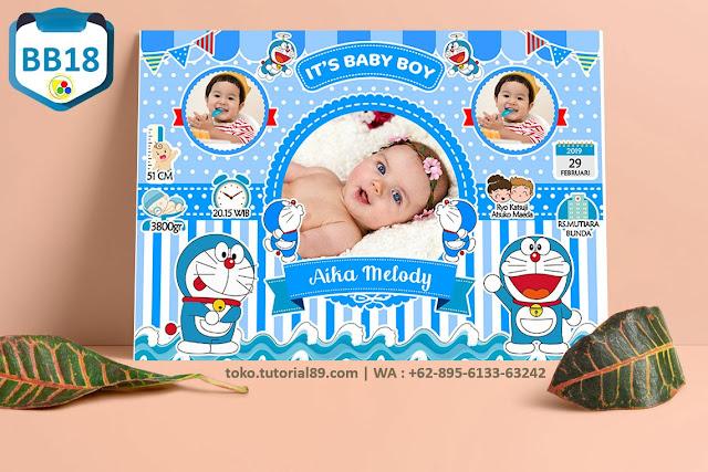 Biodata Bayi Costume Baby Boy Kode BB18 | Doraemon