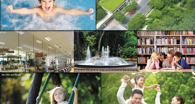 Tiện ích dự án Intracom Riverside Vĩnh Ngọc Đông Anh