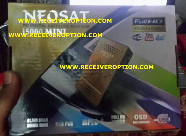 NEOSAT i5000 MINI HD RECEIVER AUTO ROLL POWERVU KEY NEW SOFTWARE