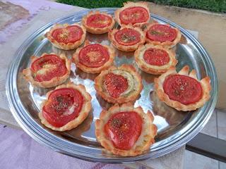 Recette de tartelette tomate fromage