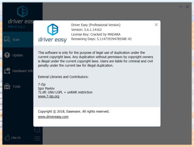 DriverEasy 5.6.2 Pro Crack Serial Key License Code Key Number License