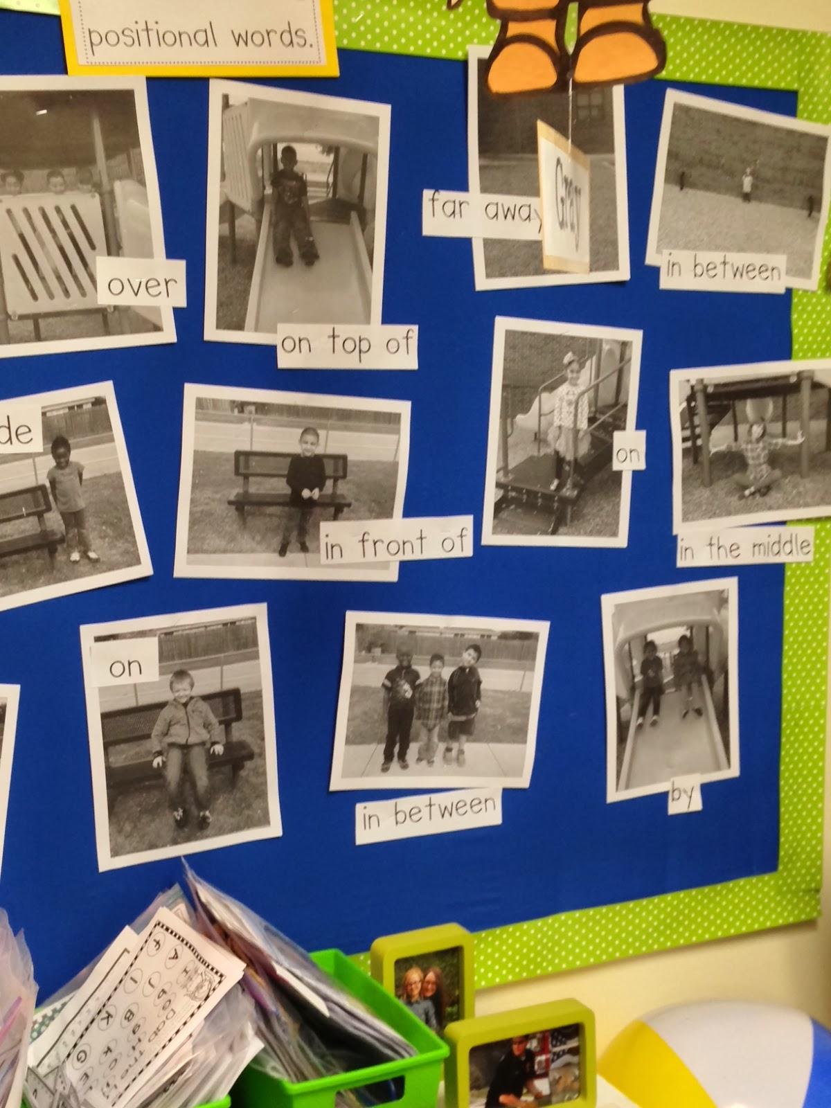 Chalk Talk A Kindergarten Blog Positional Words On The