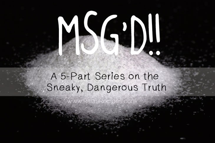 MSG'D!! Part 5: What Do I Eat Now? 5 Steps To An MSG-Free Life | www.RaiasRecipes.com