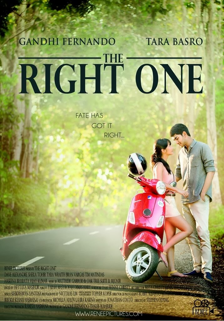 Film Terbaru The Right One 2014