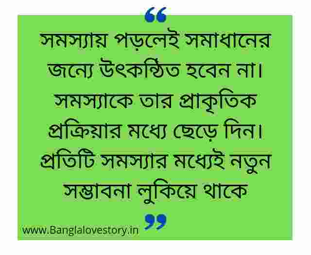 Bangla Quotes About Life
