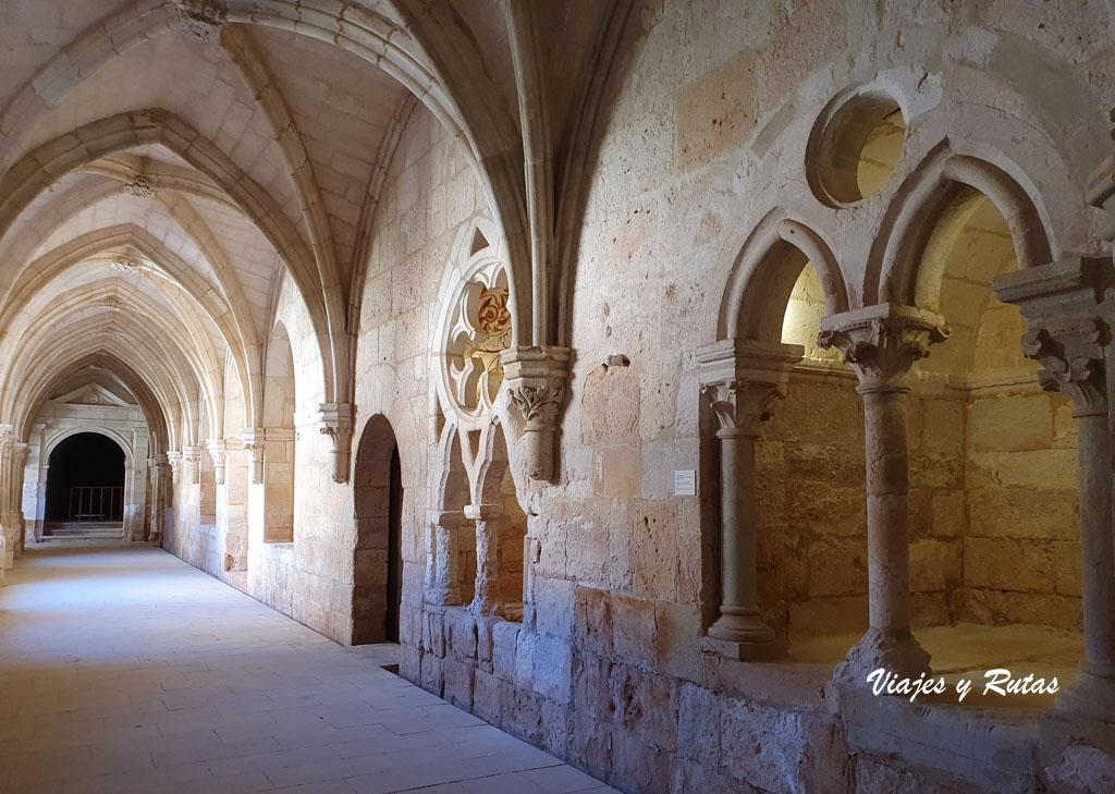 Claustro gótico de Santa María de la Huerta