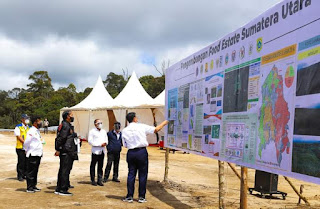 Luhut Tegaskan Lahan Lumbung Pangan di Sumut Tak Ganggu Hutan Lindung
