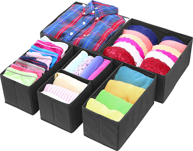 Simple Houseware Foldable Cloth Storage Box