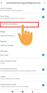 auto reply gmail specific email