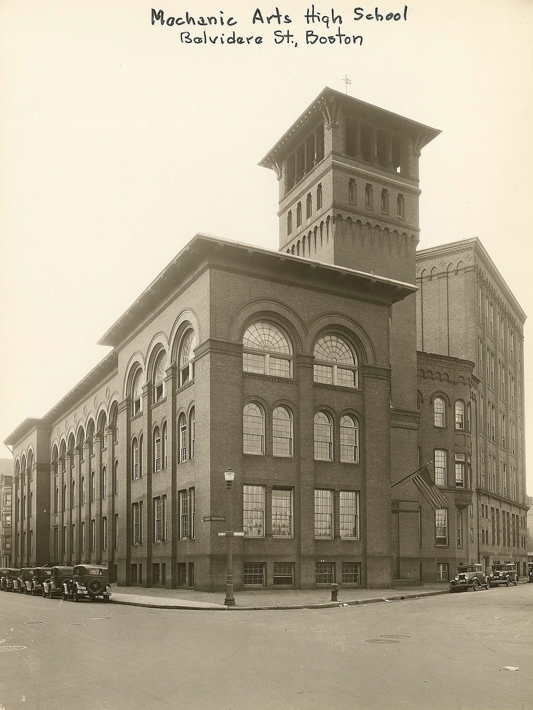 And This Is Good Old Boston: High Schools Of Yore