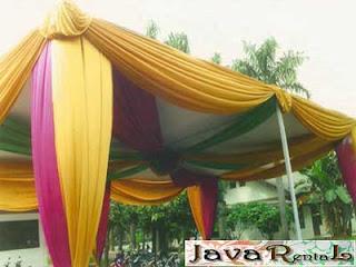 Sewa Tenda Semi Dekor - Sewa Tenda Semi Dekor Pameran