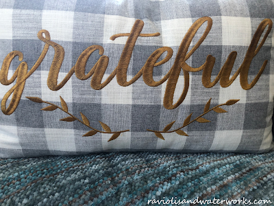 decorative pillow; grateful pillow decor; pier1 fall pillow; autumn pillow pier1; autumn decor