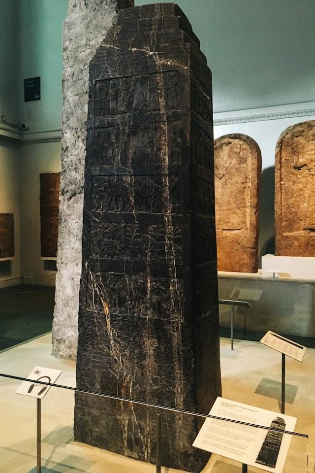 シャルマネセル3世の黒いオベリスク(The Black Obelisk of Shalmaneser III)