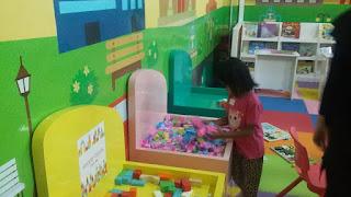 Mini Playground Arena bermain anak edukatif di Tanjungpinang City Centre