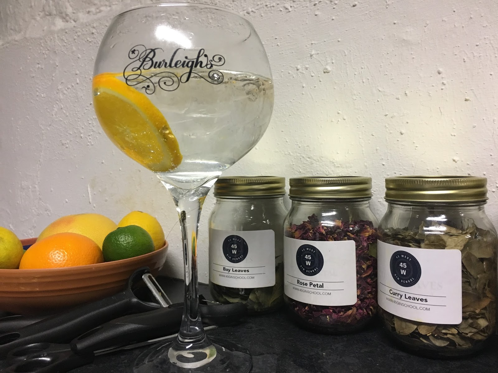 Burleighs gin and tonic \ Leicestershire \ botanicals \ Priceless Life of Mine \ over 40 lifestyle blogger