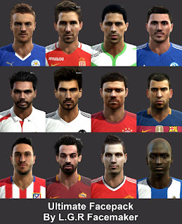 Ultimate Facepack 2016 Pes 2013 By L.G.R
