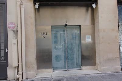 Façade restaurant Kei Paris 01, blog Délices à Paris.