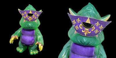 Mardi Gras Stroll Vinyl Figure by Spanky Stokes x Toy Art Gallery