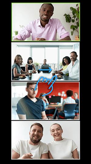 Cara Menampilkan Semua Peserta di Zoom Meeting Melalui HP