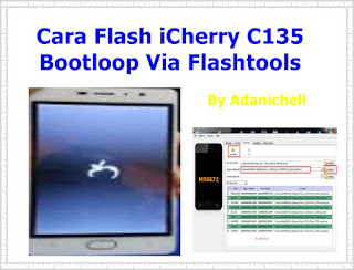 Cara Flash iCherry C135