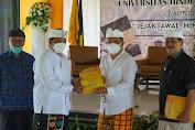 Rai Mantra Hadiri Launching Buku 'Jejak Awal Hindu di Indonesia' Karya Alm. Prof. Dr. IB Mantra