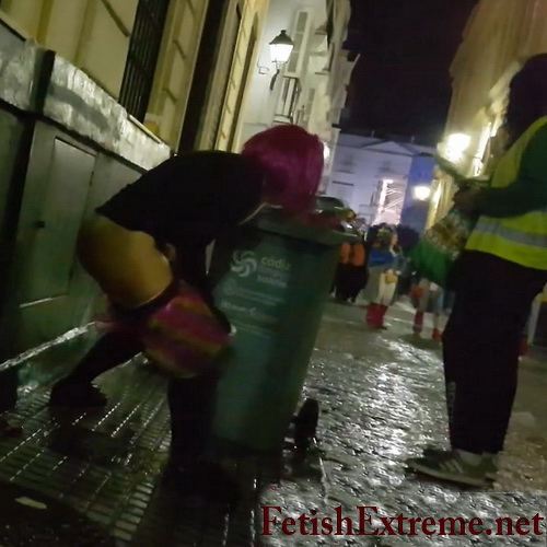 Girls Gotta Go 79 (Drunk girls peeing in public at the festival. Voyeur films many girls who pull down their clothes and pee at the same time)