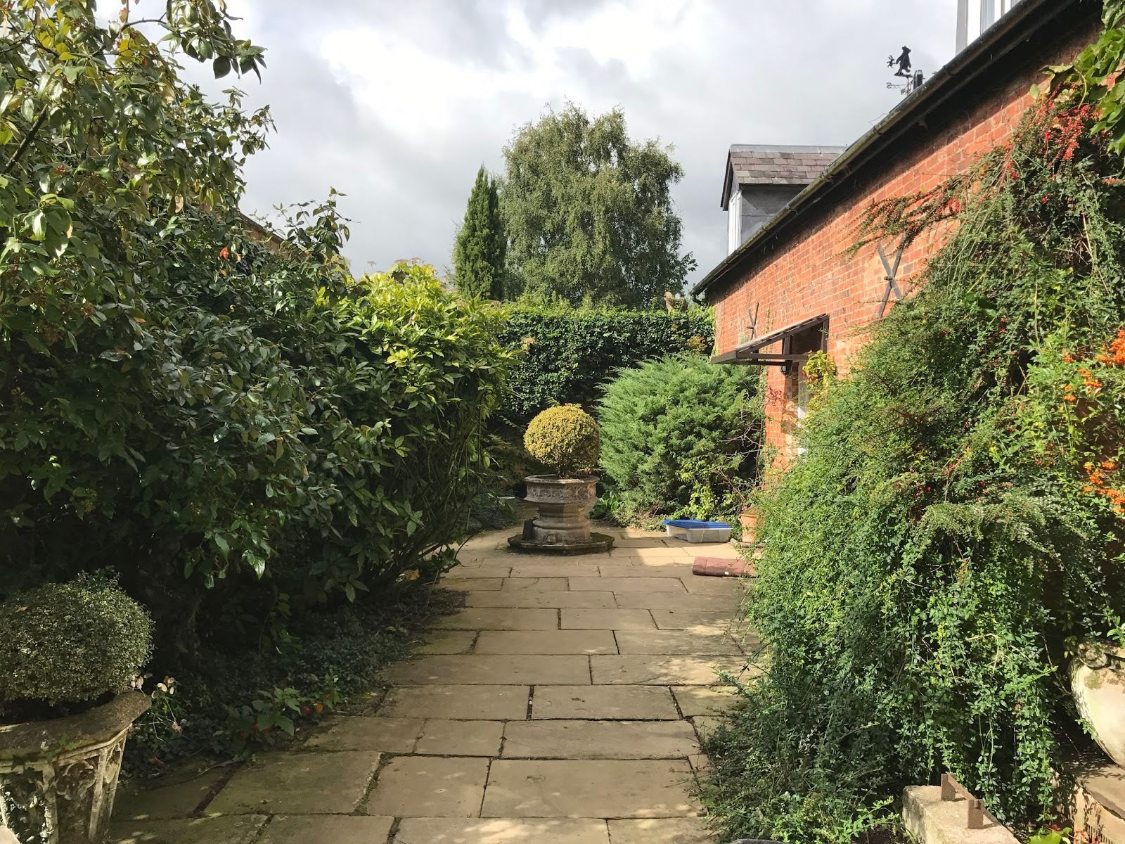 Thinking of the days: A day at Sulby Gardens
