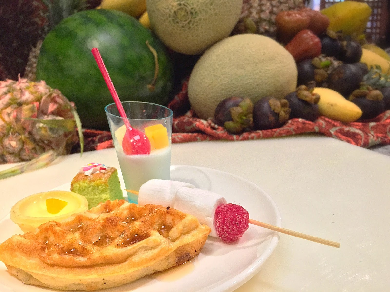 1 Market (Plaza Singapura) - Waffles
