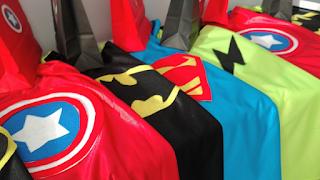 capas superhéroes niños