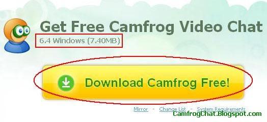 Cara Install Camfrog 6.4 Terbaru