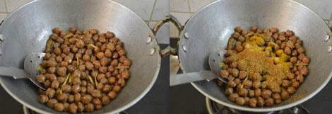 how to prepare Pindi chole